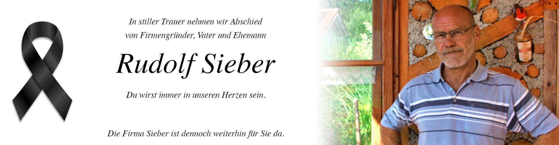 Rudolf-Sieber-Trauer